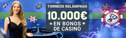 Torneos de ruleta en vivo de Codere casino