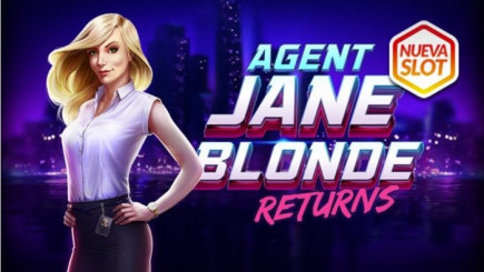Llega a los casinos la esperada secuela Agent Jane Blonde Returns
