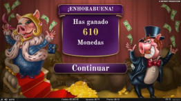 Premio en Piggy Riches