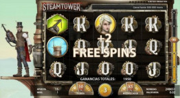 Tiradas gratis Steam Tower