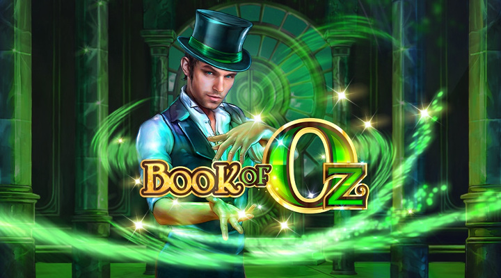 "Tragaperras de Magia ""Book of Oz"""