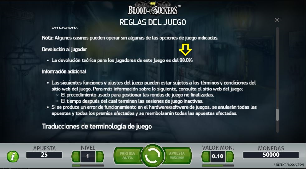 Blood Suckers RTP
